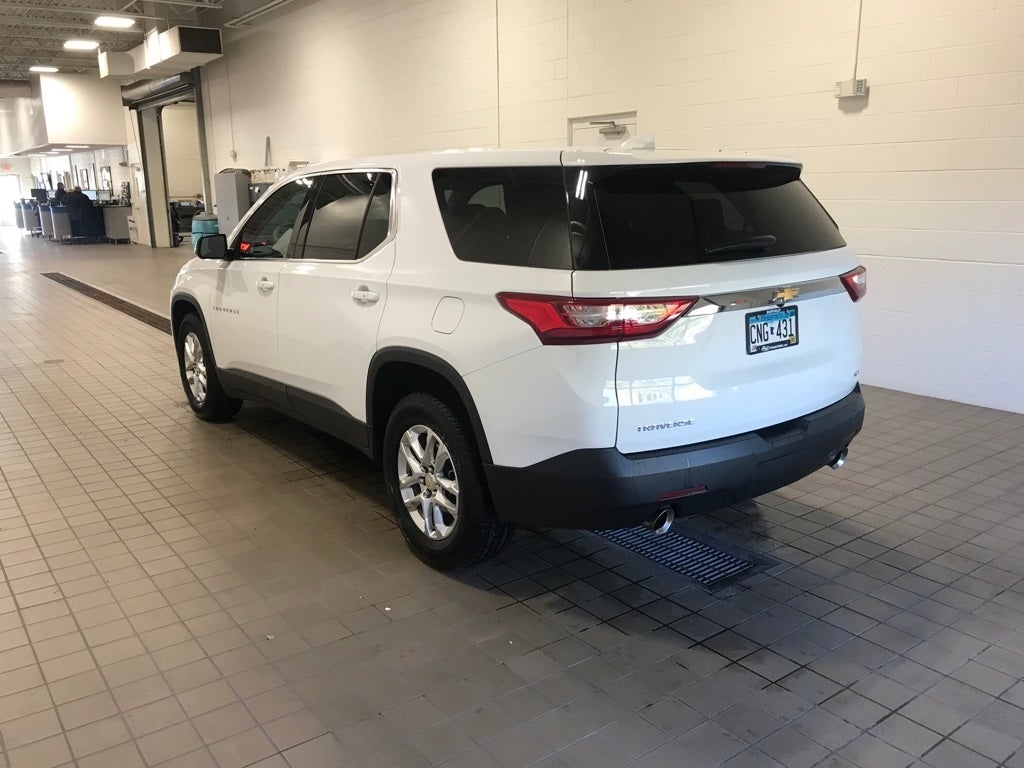 Used 2019 Chevrolet Traverse LS with VIN 1GNEVFKW0KJ152568 for sale in Buffalo, Minnesota